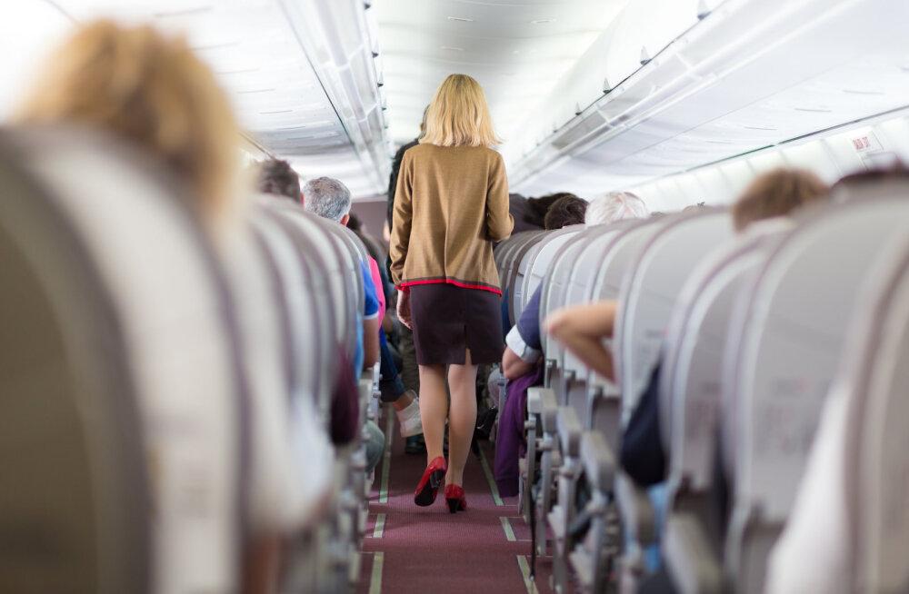 Täbar õhusõit! Neid lennukis juhtuvaid asju vihkavad reisijad kõige rohkem