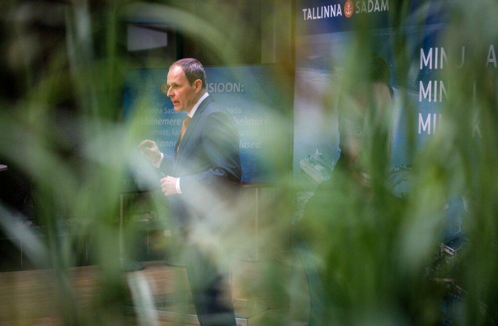 Tallinna Sadama bõrsile mineku pressikonverents