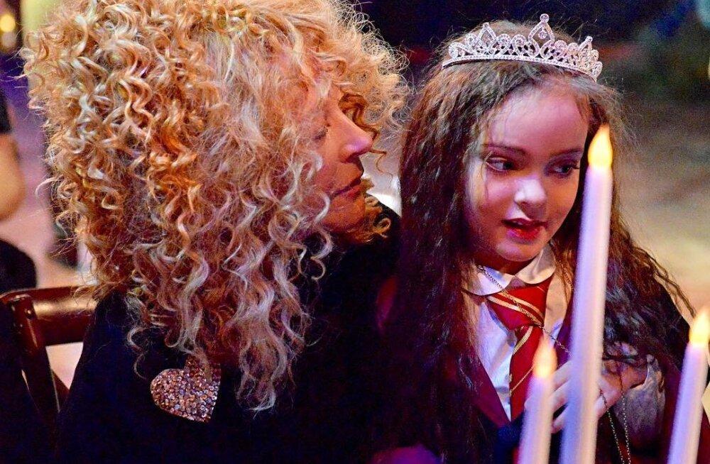 FOTOD | Unistuste sünnipäev! Superstaar Philipp Kikorov korraldas tütrele unustamatu peo, kuhu tuli Venemaa staaride koorekiht