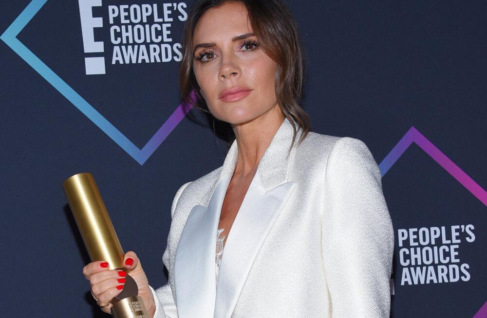 Vägev naine! Victoria Beckham pälvis erilise auhinna ning üllatas innustava kõnega