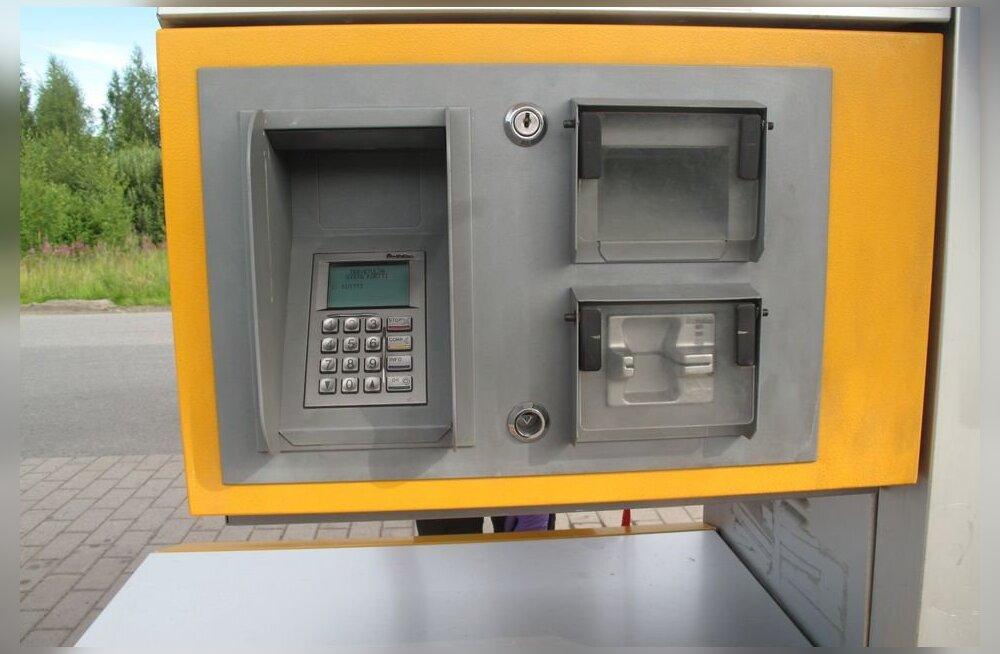 Финская полиция предупреждает водителей о копирующих банковские карты автоматах на заправках