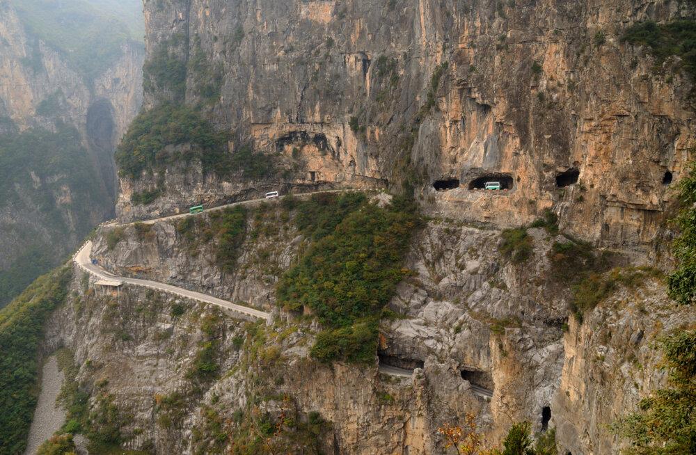 10 kõige ohtlikumat teed maailmas. Siiski möödapääsmatult hädavajalikud
