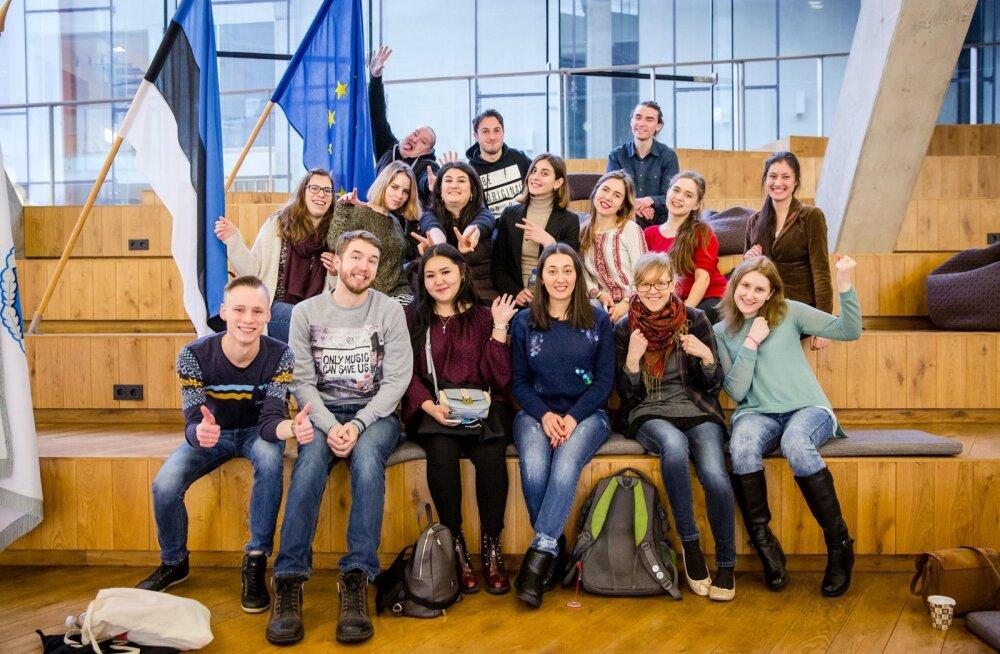 В Нарвском Колледже начинает обучение первый набор иностранных студентов