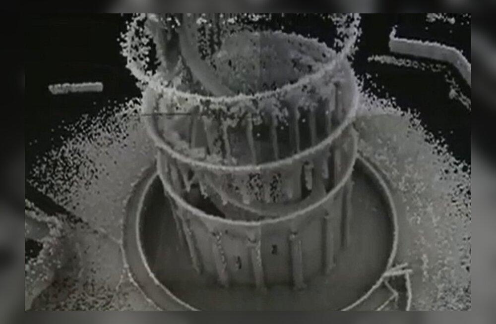 Vedrukaelne 3D-skanner kaardistas Pisa torni 20 minutiga