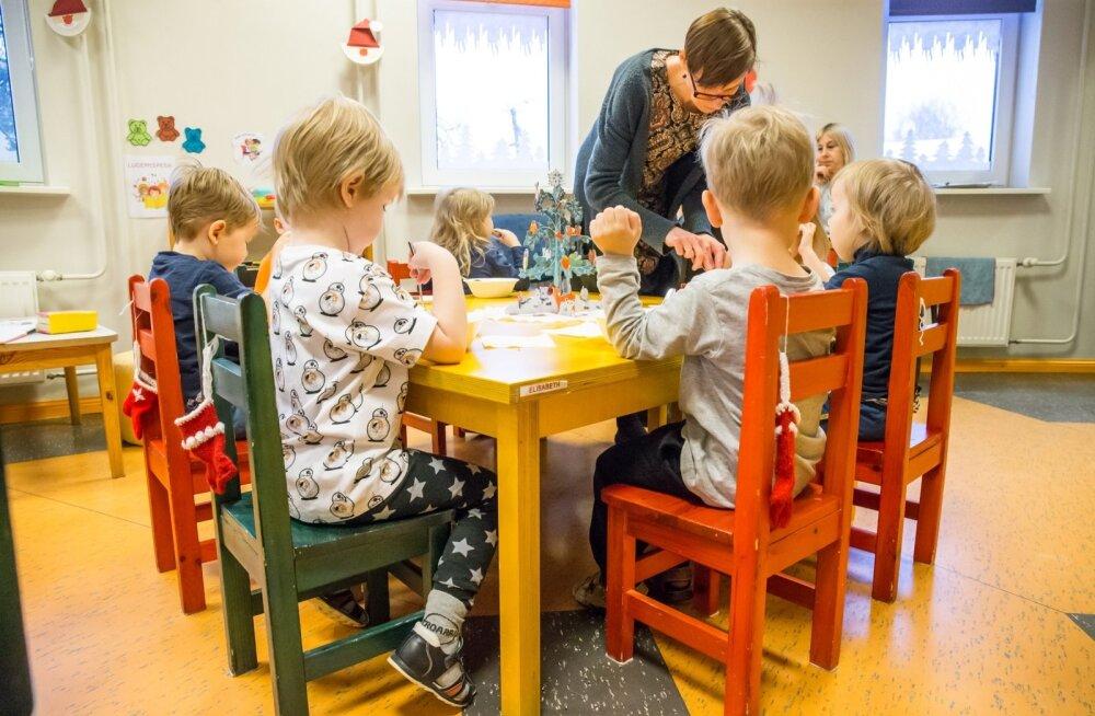 Noorte perede jaoks on esmatähtis just lasteaiakohtade küsimus.