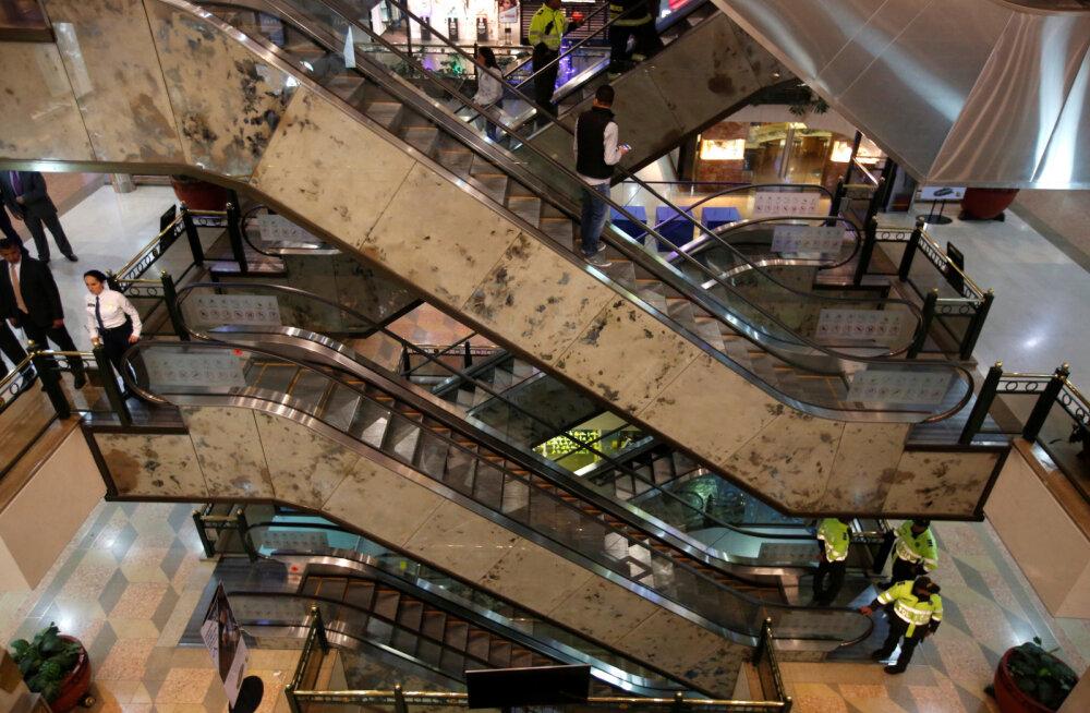 В торговом центре в столице Колумбии произошел взрыв