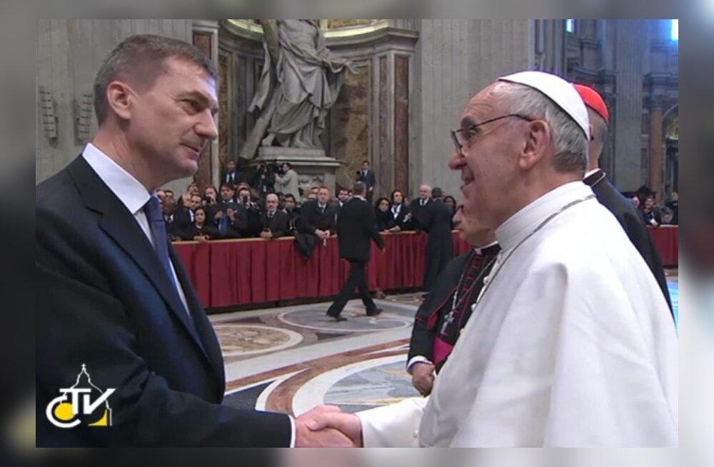 Ansip ja Franciscus