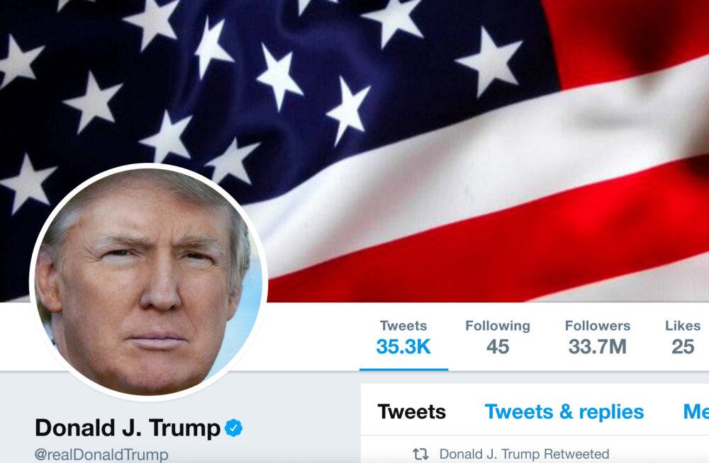 Donald Trumpi poolt blokitud Twitteri kasutajad kaebasid presidendi kohtusse