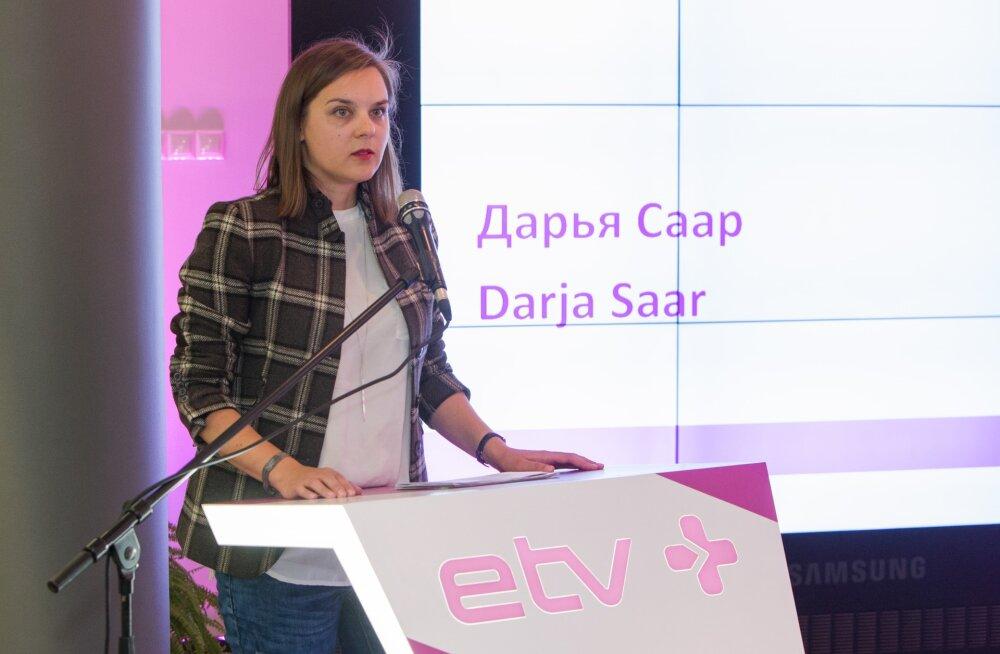 ETV+ juht Darja Saar andis viimase intervjuu, relv selja taga