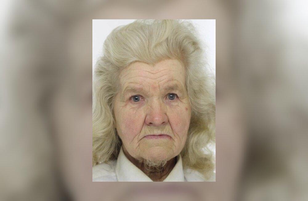 Полиция ищет пропавшую в Пайде 81-летнюю Лууле. Она может находиться и в Таллинне