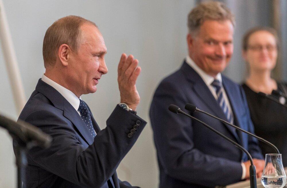 Putini ja Niinistö pressikonverents