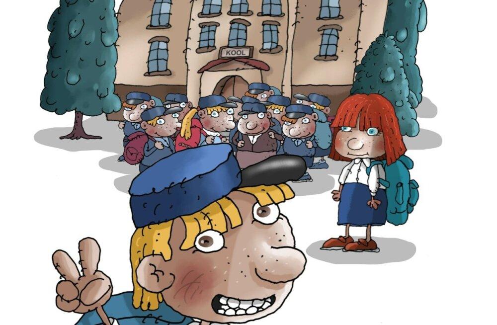 KARIKATUUR | Eesti kool on lõimumiseks loomulik tee
