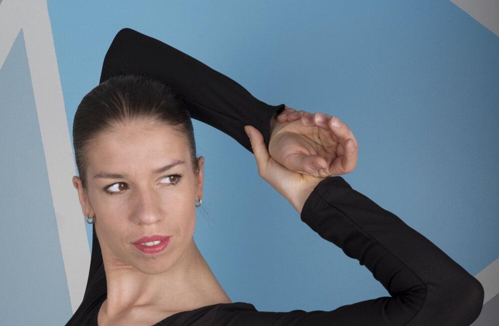 Kristina Raja - südamega tantsu küljes