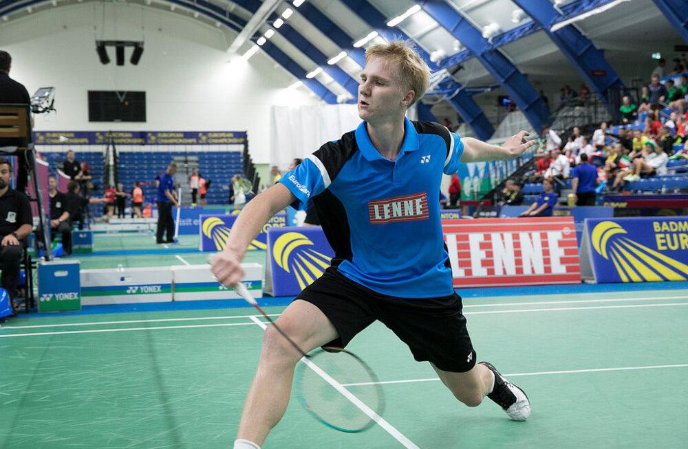 Eesti sulgpallikoondis jäi EM-il võiduta