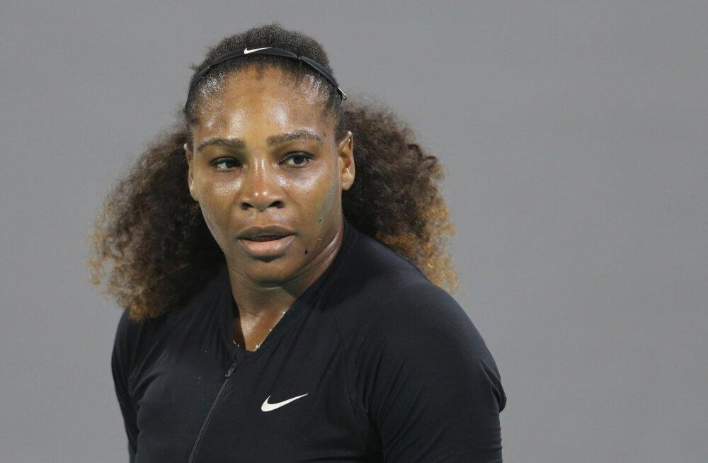 Serena Williamsil oli üliraske sünnitus: keisrilõige ja palju operatsioone