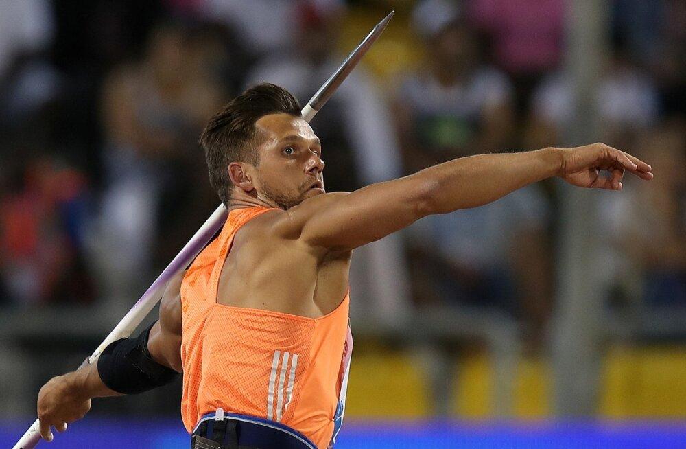 Magnus Kirt on tänavu Eesti rekordit juba kolm korda uuendanud.