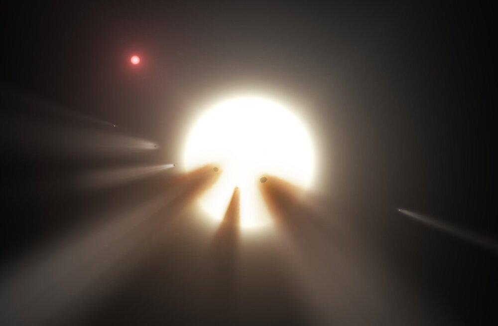 Ongi tulnukad? Astronoomid jälgivad kummalist tähte igaks juhuks ööpäevaringselt