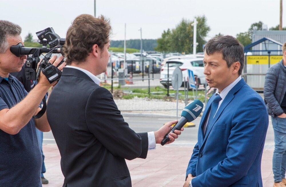 Mihhail Kõlvart annab PBK-le intervjuud.