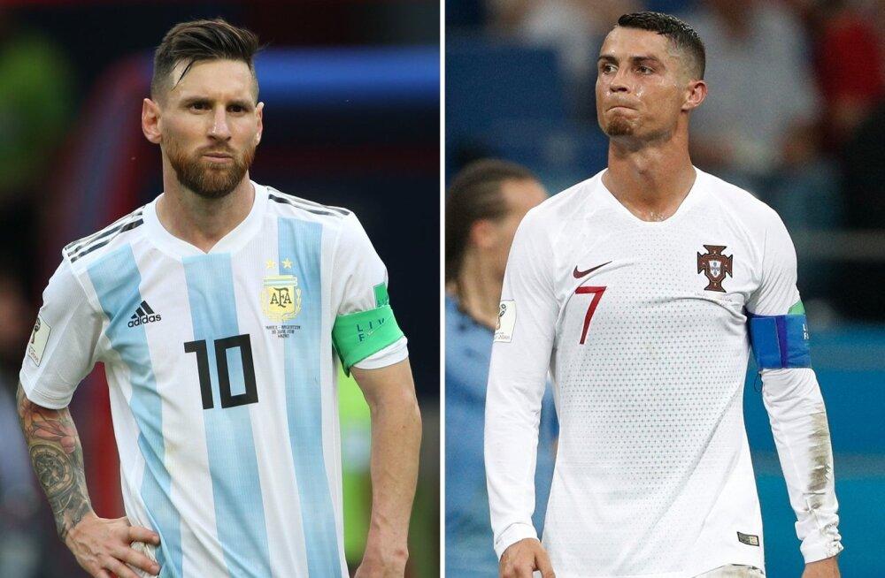 Lionel Messi ja Cristiano Ronaldo