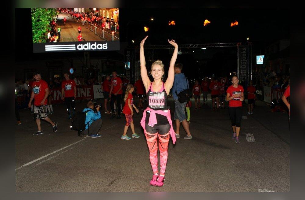 """Ööjooksu jooksjad ületasid oma sportlikud eesmärgid <sub style=""""color: #ff0000;"""">LOE kuidas läks Piret Järvise esimene jooksuvõistlus!</sub>"""