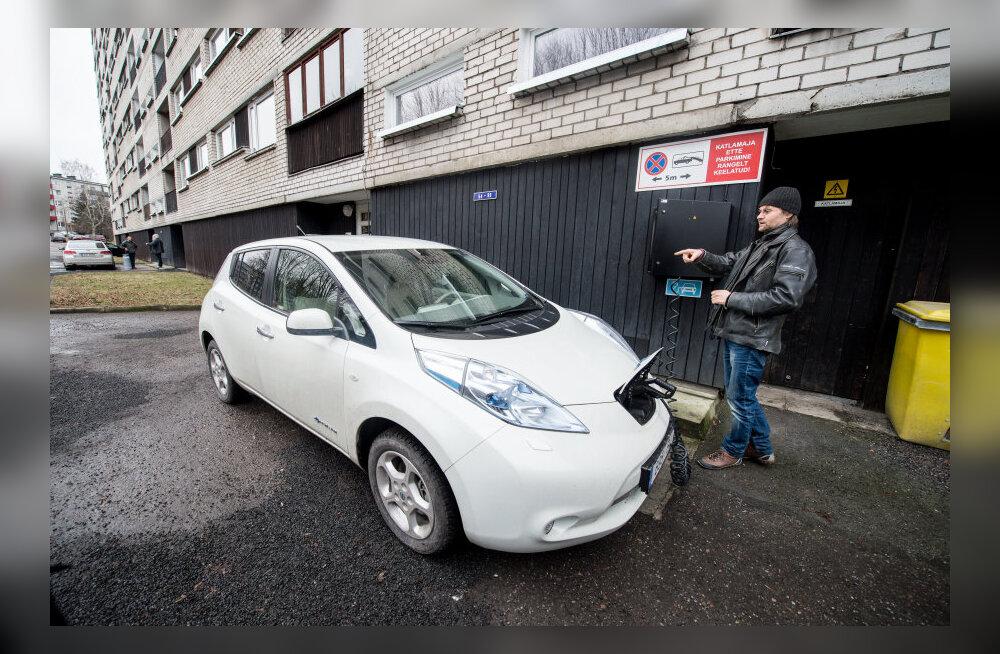 Kui kuskil maailmas üldse elektriautot omada, siis just Eestis