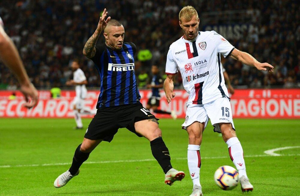 Cagliari peatreener avaldas, miks ta Klavani poolajal välja vahetas