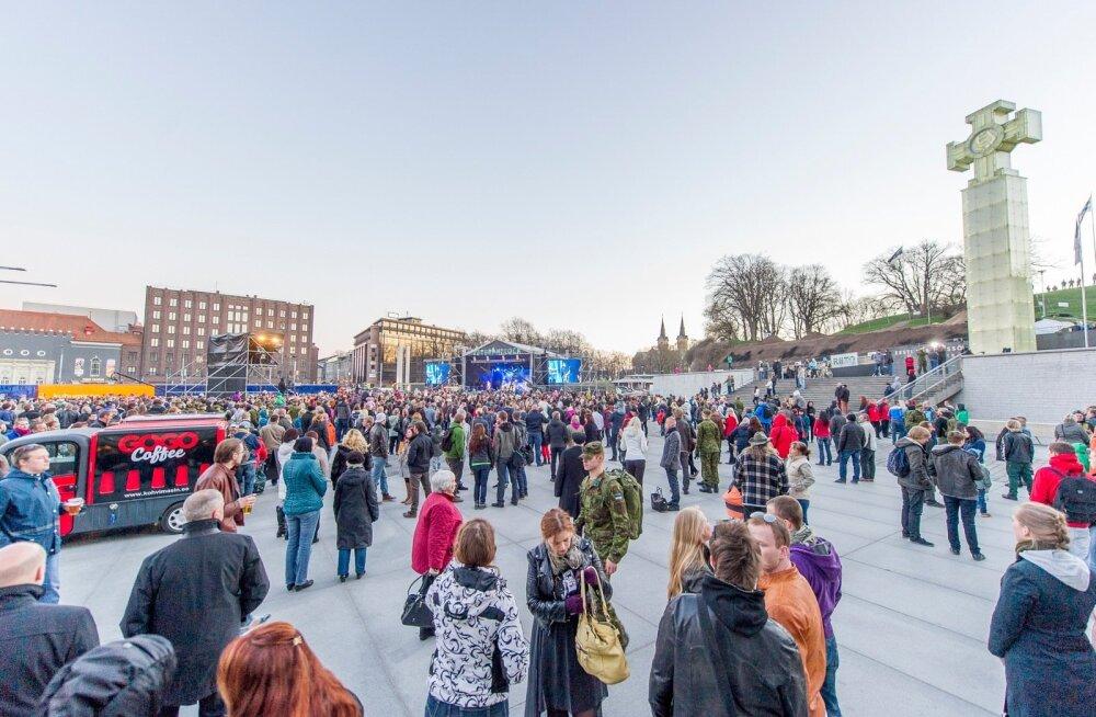 Tallinnas veteranipäevale pühendatud kontsert Veteranirock