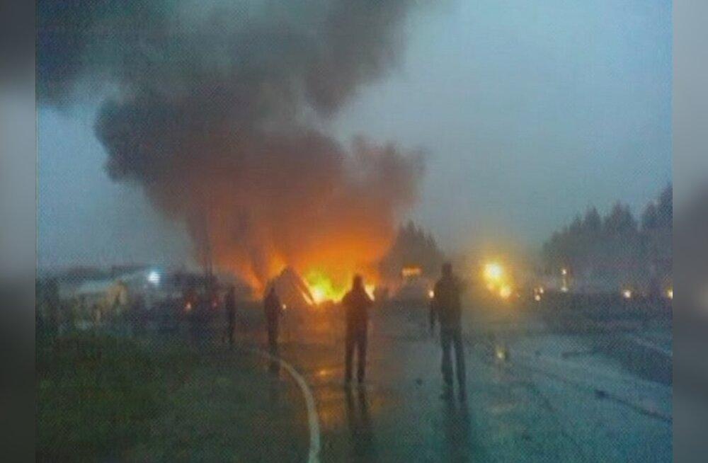 Petroskoi lennuõnnetuse ohvrite arv tõusis 47-ni