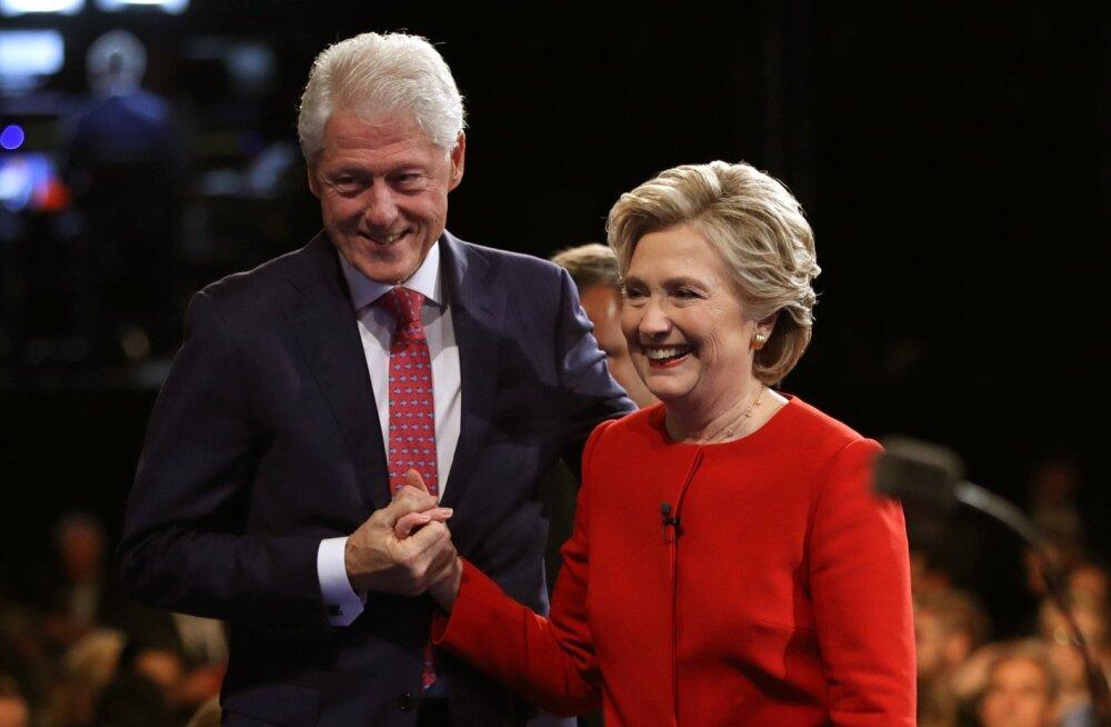 Bill ja Hillary Clinton