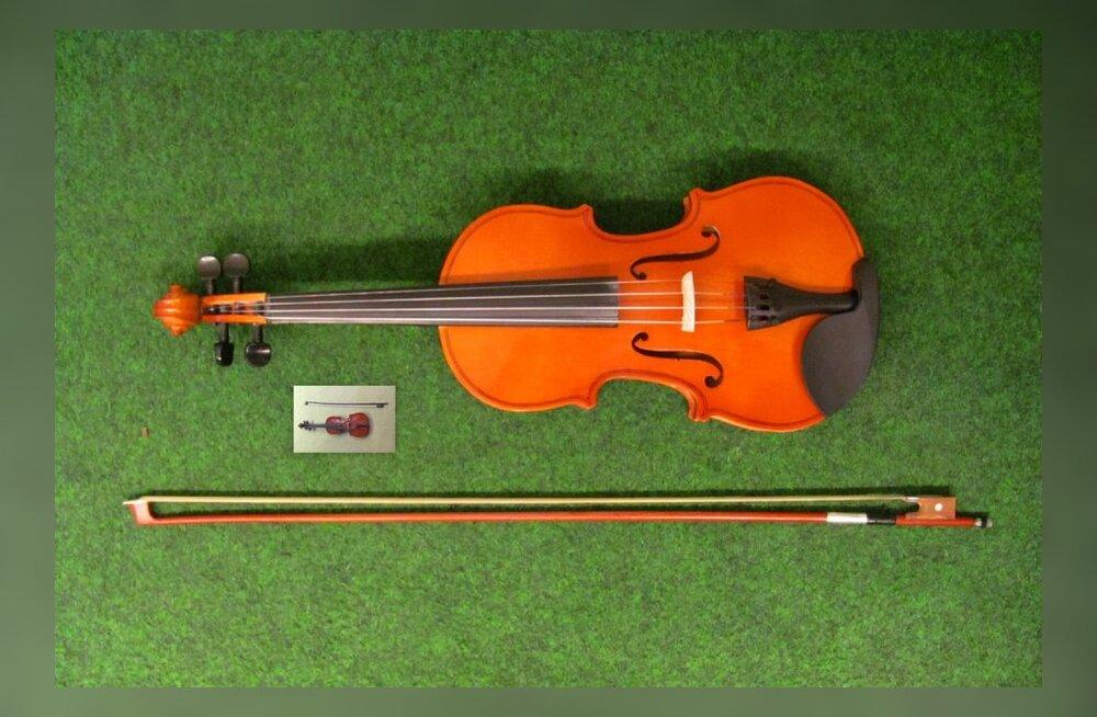 ФОТО: Оригинальный подарок на день рождения годовалому ребенку — самая маленькая скрипка