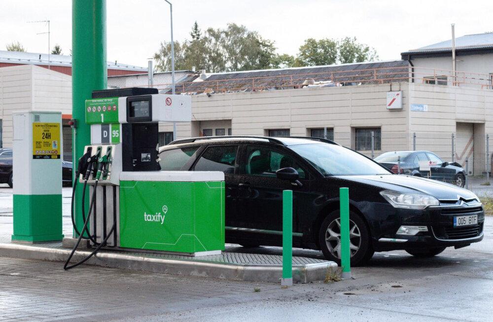 Taxify открывает заправку и обещает самое дешевое топливо в Таллинне