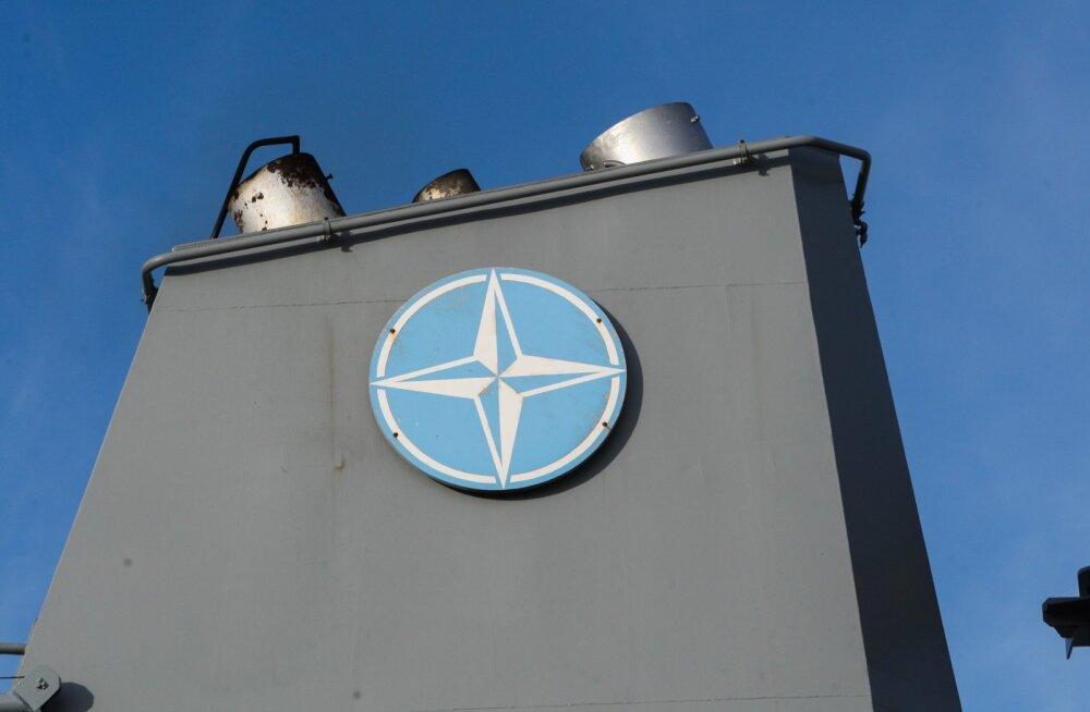 NATO miinitõrjelaevad Tallinna Lennusadamas