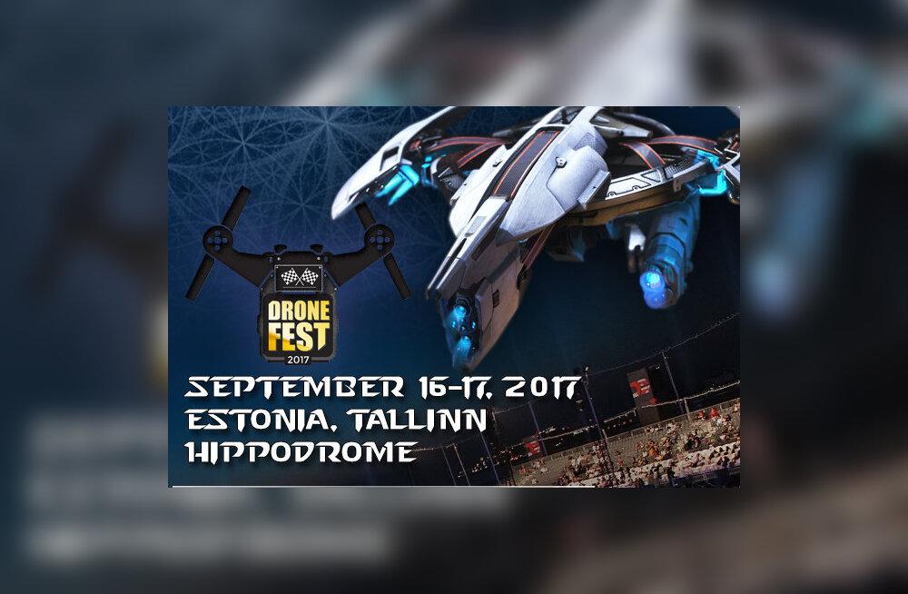 Не пропусти новый вид спорта! В Таллинне пройдет фестиваль DroneFest