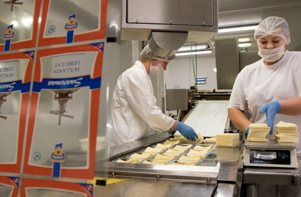 AS Saaremaa Piimatööstus, piim , juust