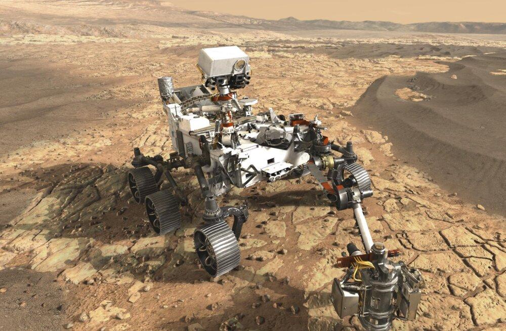NASA plaanib järgmise marsikulguri abiga punaselt planeedilt pinnaseproove Maale saata