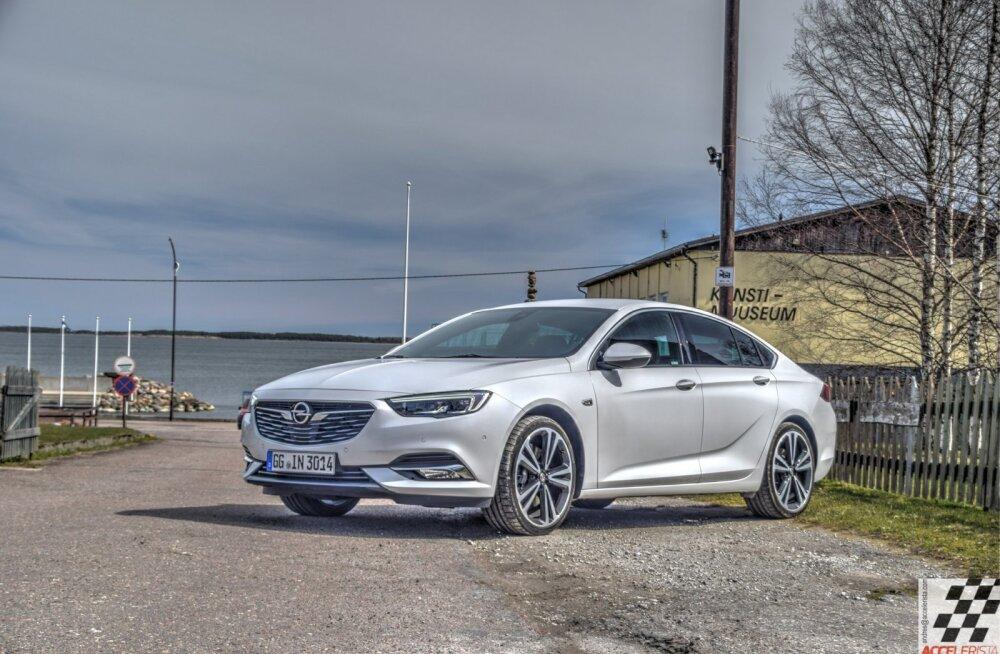 Pilk peale, käsi külge: premiumihõnguline Opel Insignia