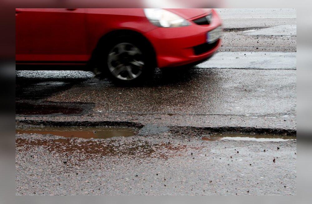 Ülevaade: teeolud ja liikluspiirangud