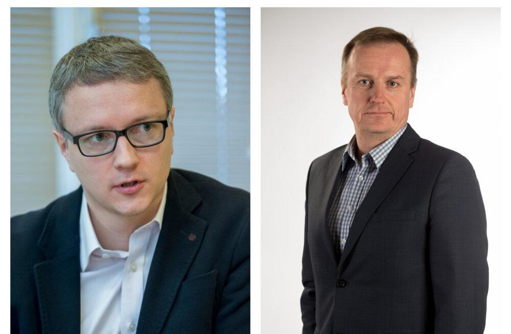 Ahto Pärl (vasakul) ja Andre Veskimeister.