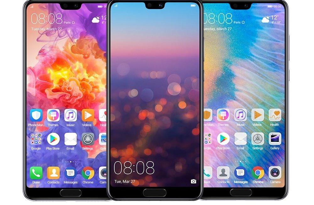 Huawei uusima tipptelefoni mõlemad variandid on vägevaimate kaameratega, mida telefonides seni nähtud