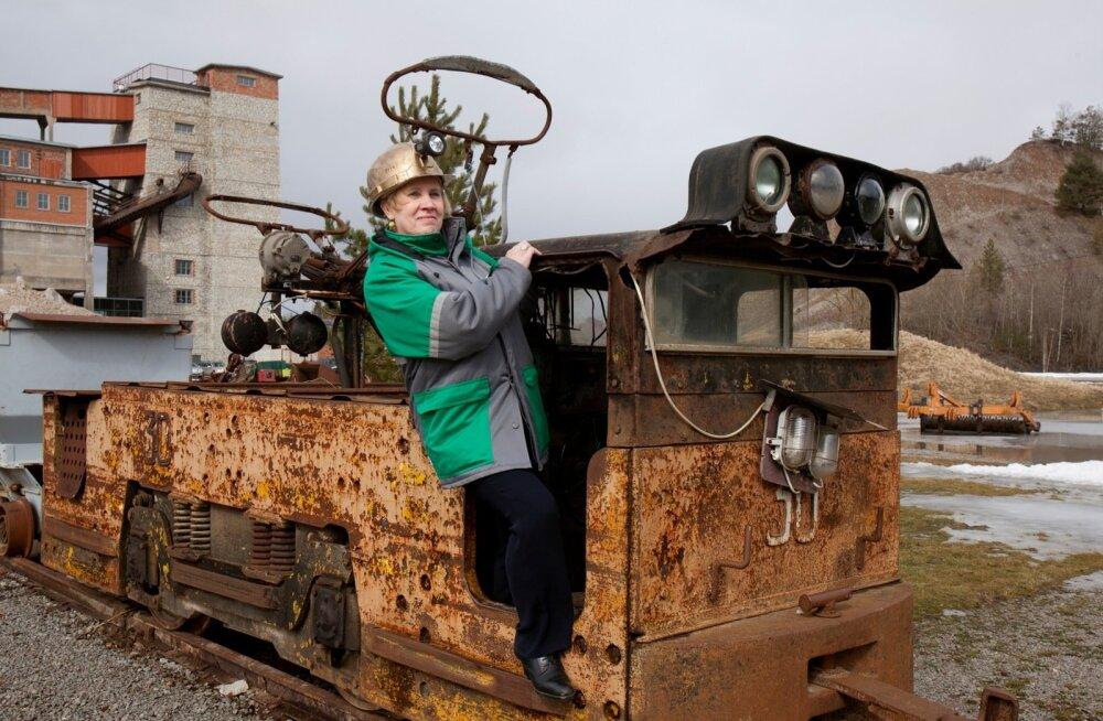 Etti Kagarov - Eesti kaevandusmuuseumi direktor