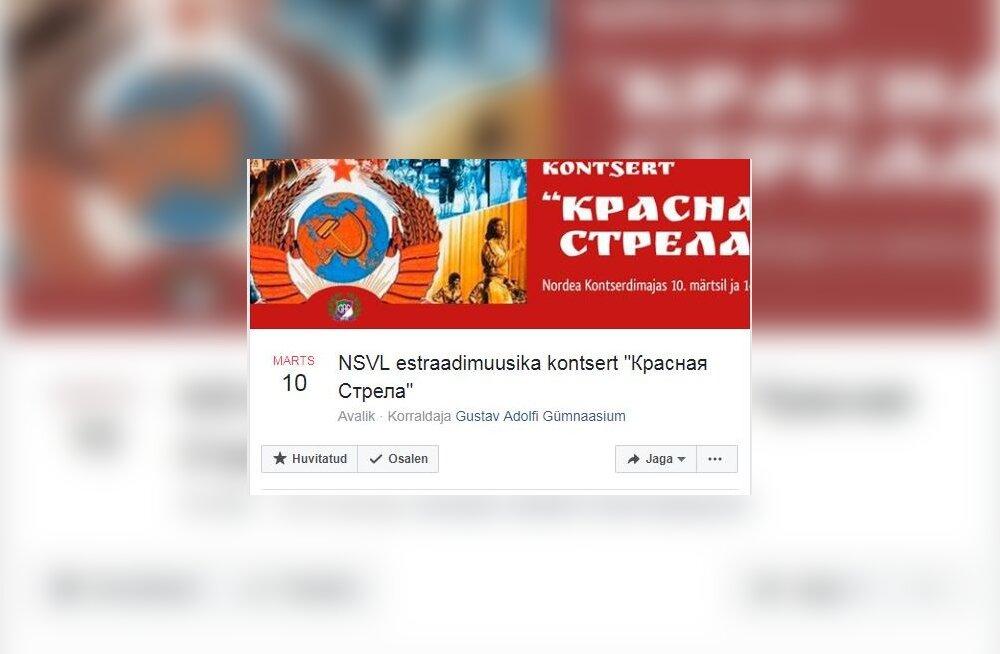 Patriotism missugune: Gustav Adolfi gümnaasium korraldab EV100 tähistamise järel nõukaaegset muusikat ülistava estraadikontserdi