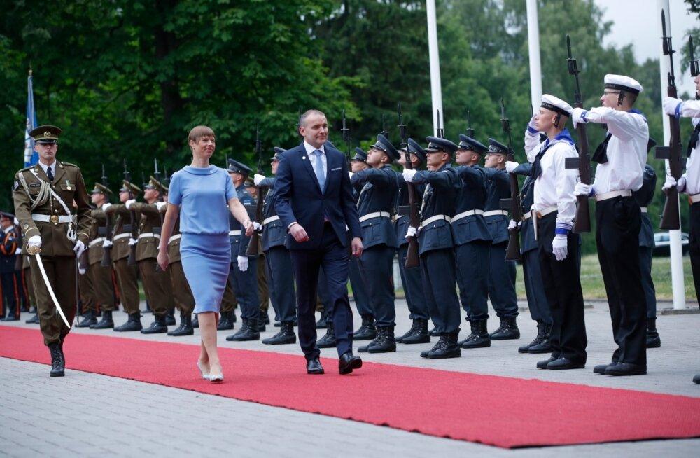 FOTOD | Islandi president Jóhannesson kohtus Kadriorus president Kersti Kaljulaidiga