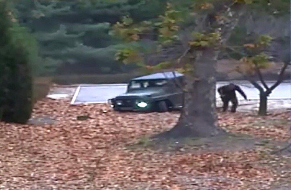 Ajaleht: kuulirahe all Lõuna-Koreasse põgenenud sõdur pani Põhja-Koreas toime mõrva