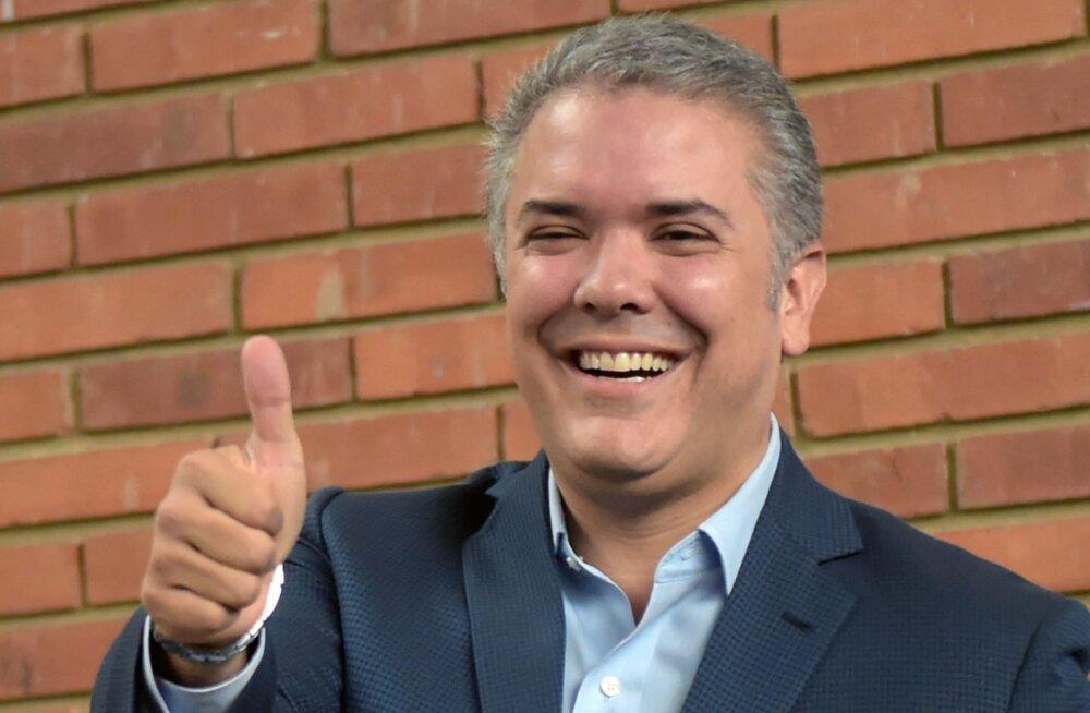 Colombia presidendiks saab noor käre konservatiiv