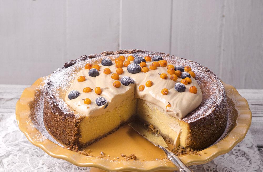 Lia Virkus soovitab: imeline kõrvitsa-juustukook ja kõrvitsa väesmuuti