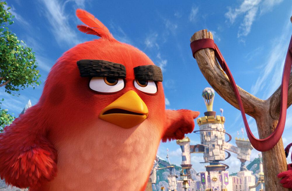 """10 fakti videomängul põhineva animatsiooni """"Vihased linnud"""" kohta"""