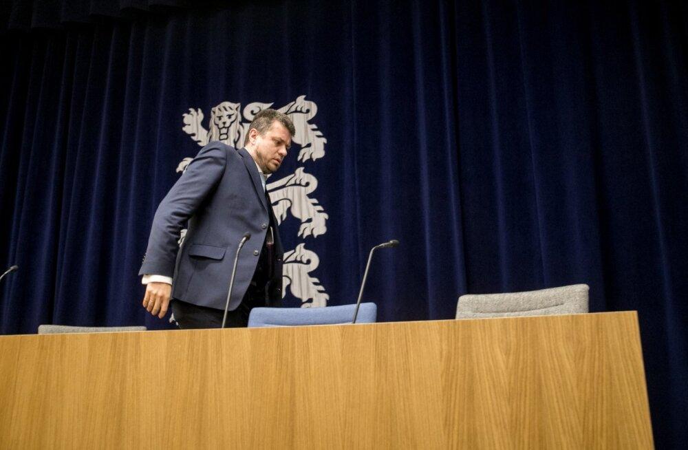 Urmas Reinsalu pressikonverents