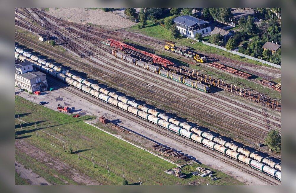Tüütud kaubarongid soovitakse kesklinnast ja Koplist eemale viia