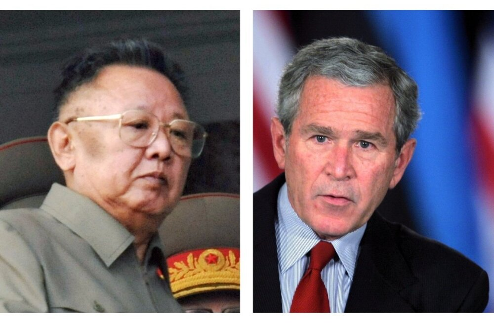 Kim Jong-il ja George W. Bush