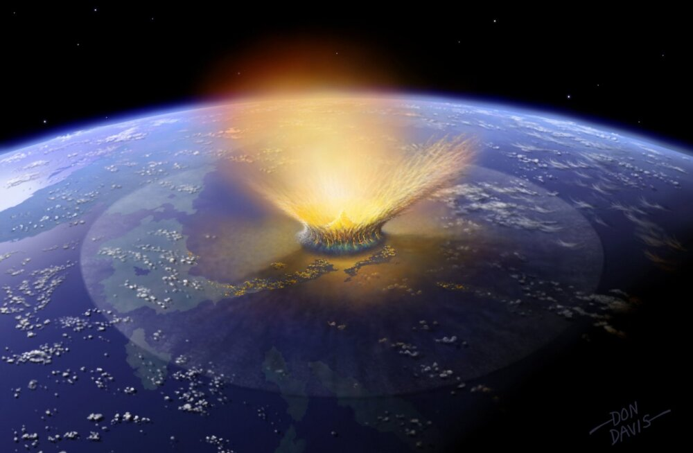Dinosaurused minema pühkinud asteroidil oli elule Maal seniarvatust palju hukatuslikum mõju